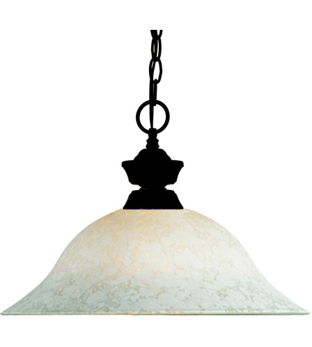 Z-Lite Signature 1 Light Pendant in Bronze 100701BRZ-WM16 photo
