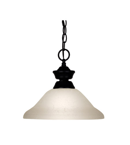 Z-Lite Signature 1 Light Pendant in Matte Black 100701MB-WL12 photo