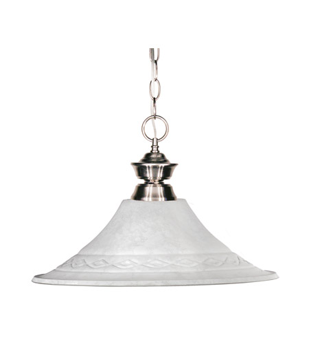 Z-Lite Signature 1 Light Billiard/Pendant in Pewter 100701PT-FWM16 photo
