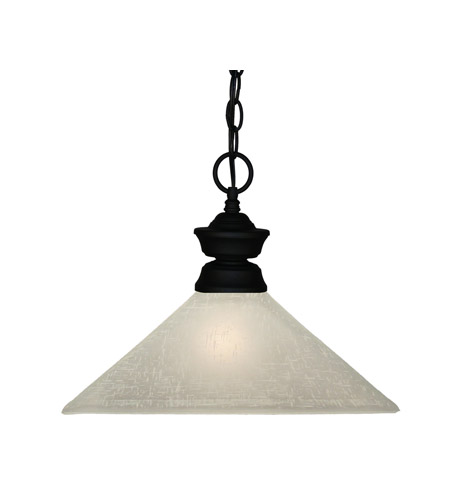 Z-Lite Signature 1 Light Pendant in Sand Black 100701SB-MWL13 photo