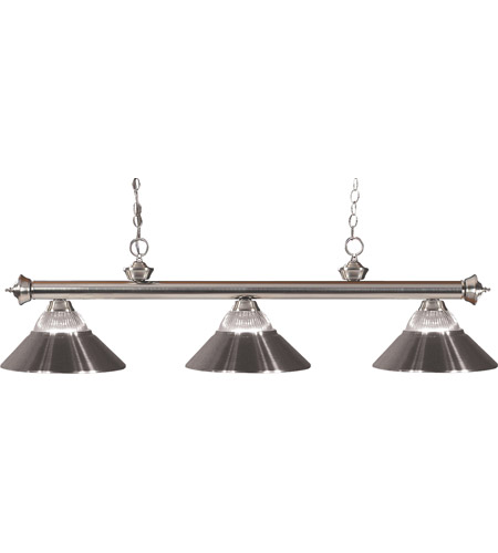 Z-Lite Riviera 3 Light Billiard in Pewter 100703BN-RBN photo