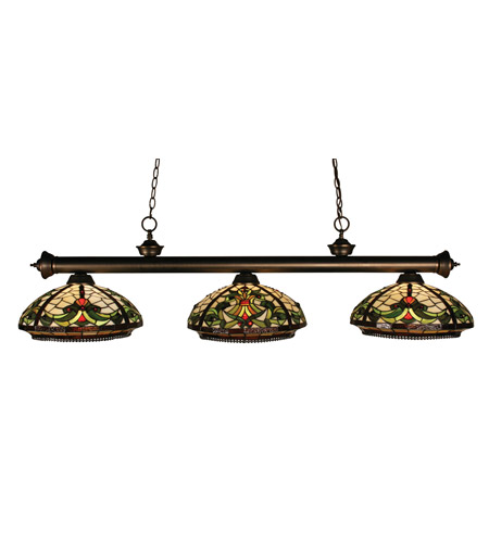 Z-Lite Templeton 3 Light Island/Billiard in Olde Bronze 100703OB-Z14-9 photo