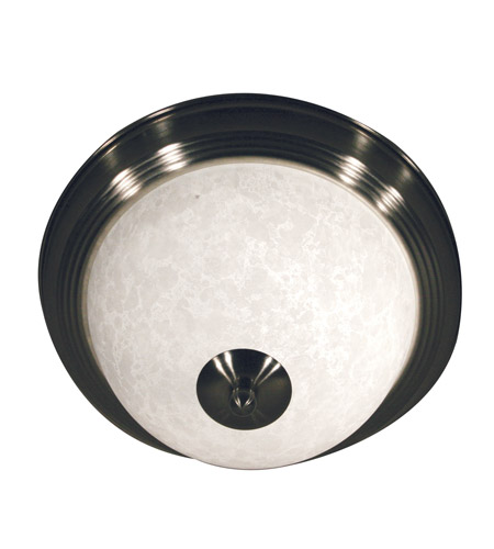 Z-Lite Huntingdale 1 Light Flush Mount in Brushed Nickel 100F11-BN photo