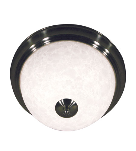 Z-Lite Huntingdale 2 Light Flush Mount in Brushed Nickel 100F13-BN photo