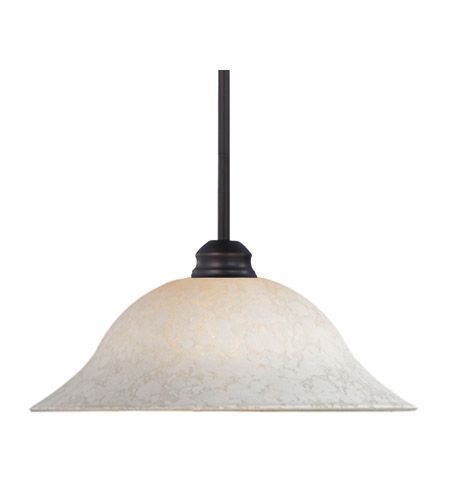 Z-Lite Signature 1 Light Pendant in Olde Bronze 100RP-OB-WM16 photo