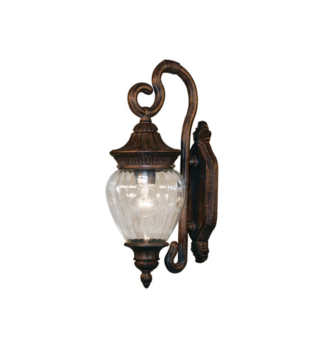 Z-Lite Devonshire 1 Light Outdoor Wall Light in Weathered Bronze 1176S-WB photo