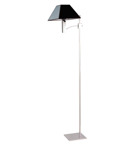 Z-Lite Pyramid 1 Light Floor Lamp in Polished Stainless Steel 1201FL photo