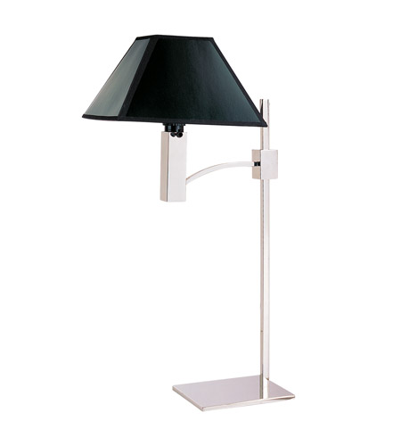 Z-Lite Pyramid 1 Light Table Lamp in Polished Stainless Steel 1201TL photo