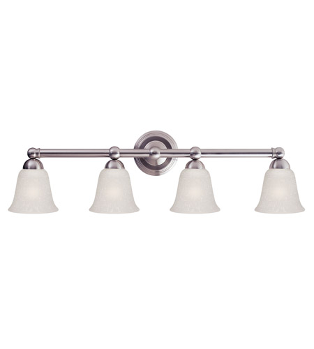 Z-Lite Bentley 4 Light Wall Sconce in Brushed Nickel 133-4V-BN photo