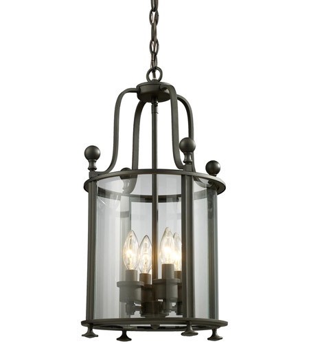 Z-Lite 135-4 Wyndham 4 Light 12 inch Bronze Pendant Ceiling Light photo