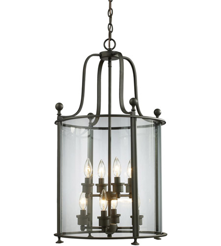 Z-Lite Wyndham 8 Light Pendant in Bronze 135-8 photo
