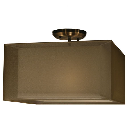 Z-Lite Nikko 3 Light Ceiling in Olde Bronze/Gold 145-15G-SF photo