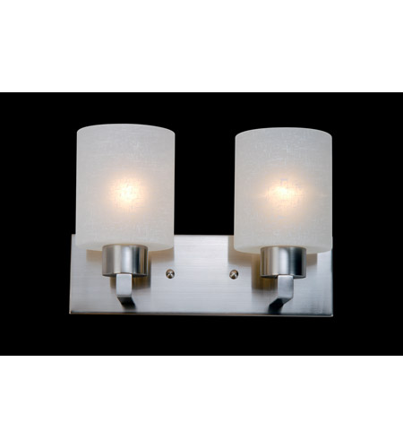 Z-Lite Cobalt 2 Light Vanity in Brushed Nickel 152-2V photo