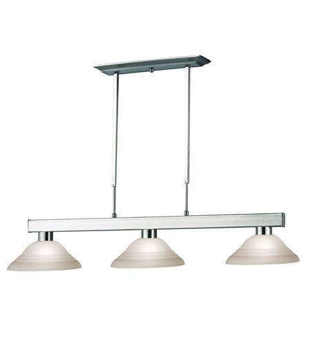 Z-Lite Cobalt 3 Light Billiard in Brushed Nickel 152BN-SW12 photo