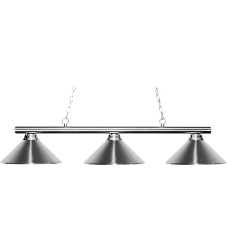 Z-Lite Chrome Steel Island Lights