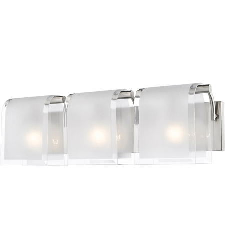 Z Lite 169 3V BN Zephyr 3 Light 23 Inch Brushed Nickel Vanity Light Wall  Light