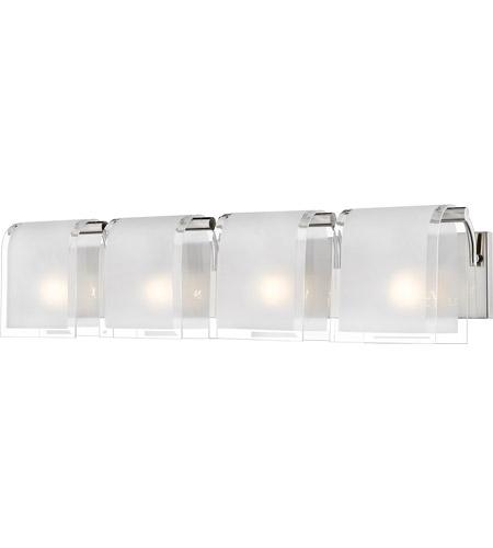 Z-Lite 169-4V-BN Zephyr 4 Light 31 inch Brushed Nickel Vanity Light ...