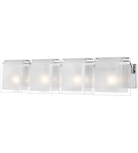 Z-Lite Zephyr 4 Light Vanity in Chrome 169-4V photo