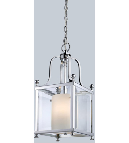 Z-Lite Fairview 3 Light Pendant in Chrome 176-3S photo