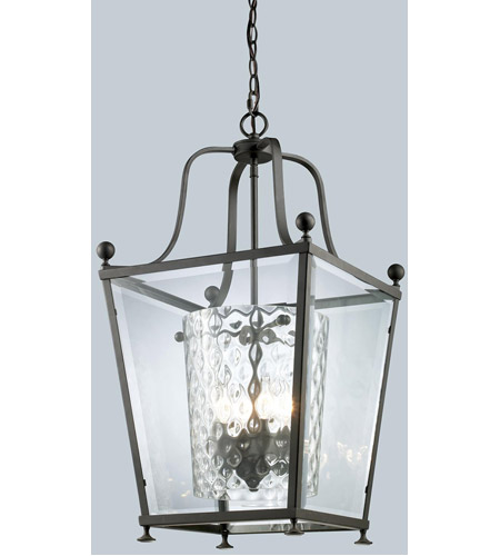 Z-Lite Ashbury 3 Light Pendant in Bronze 179-3 photo