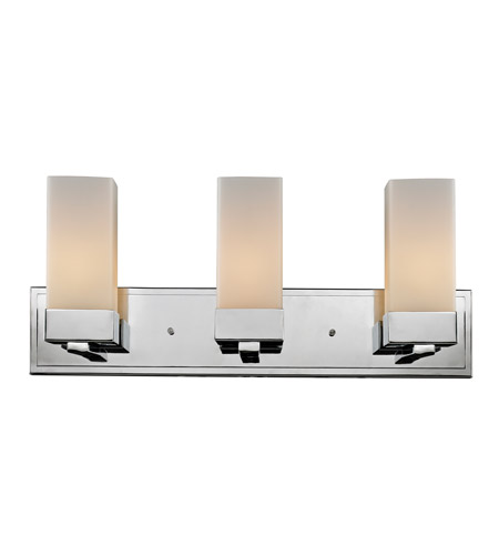 Z-Lite Sapphire 3 Light Vanity in Chrome 190-3V photo