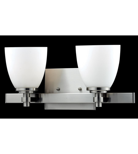 Z-Lite Dorsett 2 Light Vanity in Brushed Nickel 1902-2V photo