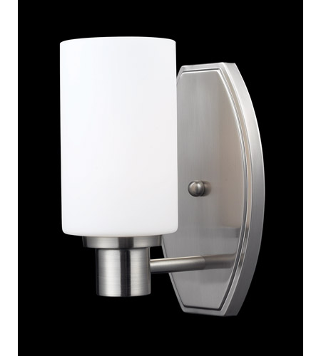 Z-Lite Adria 1 Light Vanity in Brushed Nickel 1904-1V photo