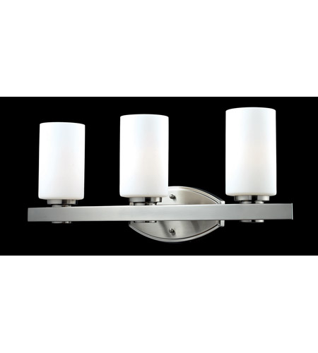 Z-Lite Adria 3 Light Vanity in Brushed Nickel 1904-3V photo