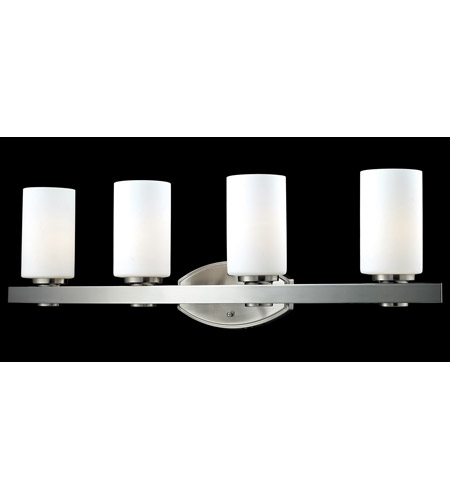 Z-Lite Adria 4 Light Vanity in Brushed Nickel 1904-4V photo