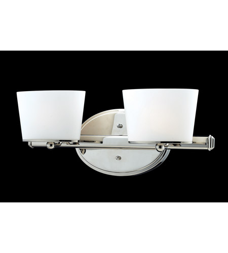 Z-Lite Chimera 2 Light Vanity in Chrome 1907-2V photo
