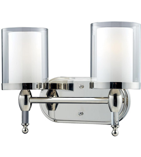 Argenta 2 Light 15 Inch Chrome Vanity Wall Light