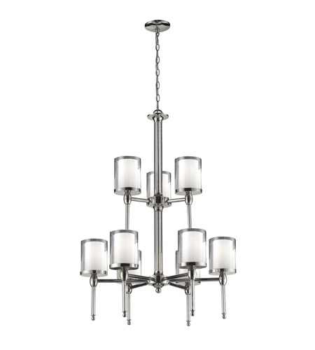 Z-Lite 1908-9 Argenta 9 Light 28 inch Chrome Chandelier Ceiling Light photo