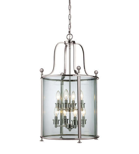 Z-Lite Brushed Nickel Wyndham Pendants