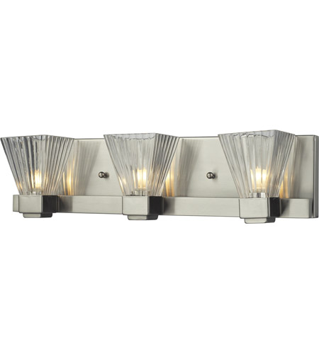 Z-Lite Iluna 3 Light Vanity in Brushed Nickel 1910-3V photo