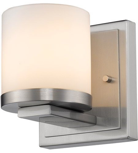 Brushed Steel LED Wall Sconces