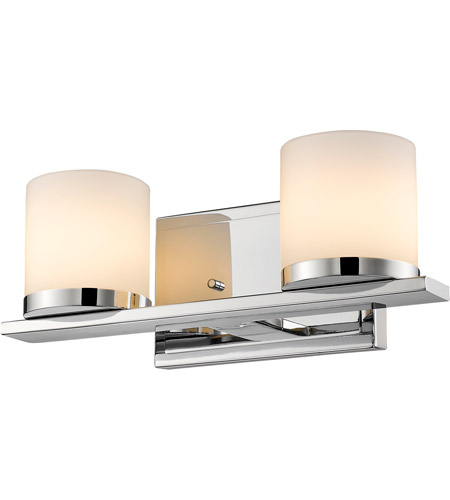 Chrome Nori Bathroom Vanity Lights