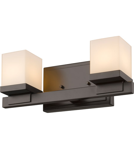 Bronze Steel Cadiz Bathroom Vanity Lights