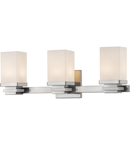 Z-Lite 1916-3V-BN-LED Avige LED 22 inch Brushed Nickel Vanity Wall Light in 3 photo