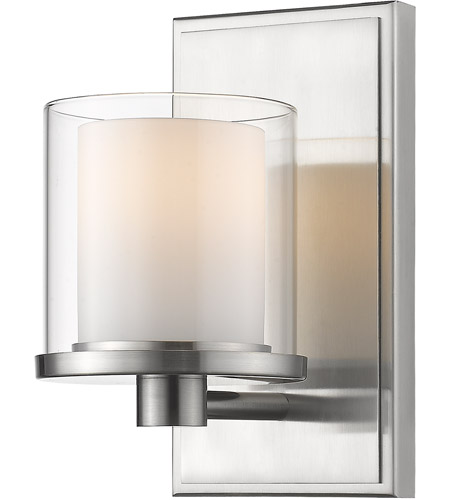 Brushed Nickel Schema Bathroom Vanity Lights