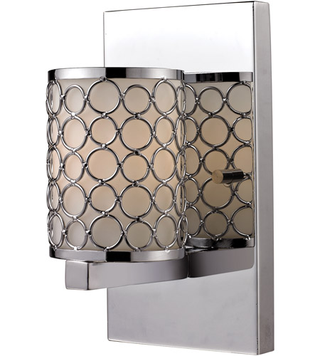 Z-Lite 199-1S Synergy 1 Light 4 inch Chrome Wall Sconce Wall Light photo