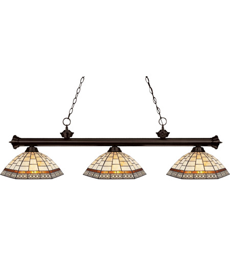 Z-Lite Riviera 3 Light Billiard in Bronze 200-3BRZ-Z14-35 photo