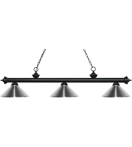 Black Steel Metal Island Lights