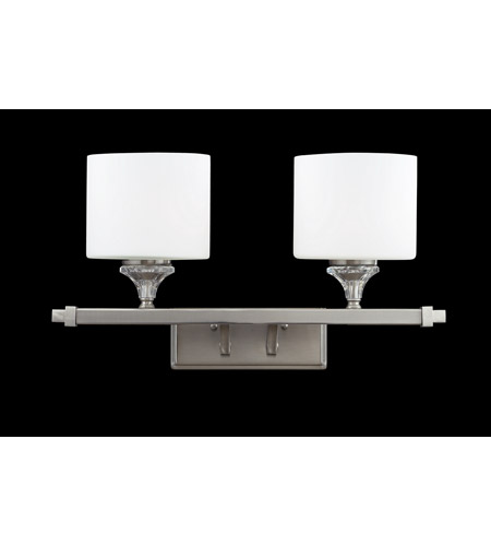 Z-Lite 2000-2V Avignon 2 Light 19 inch Brushed Nickel Vanity Wall Light photo