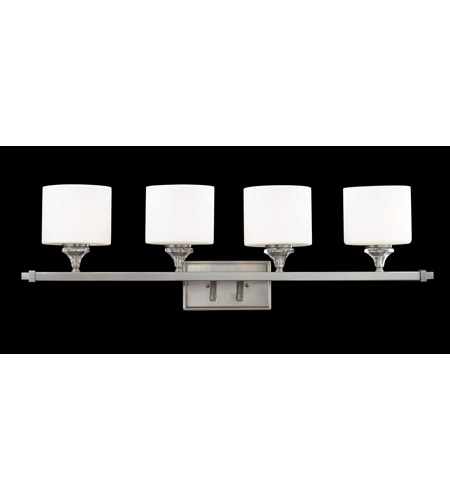 Z-Lite 2000-4V Avignon 4 Light 36 inch Brushed Nickel Vanity Light Wall Light photo