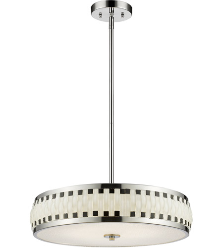 Z-Lite Chrome Steel Sevier Pendants