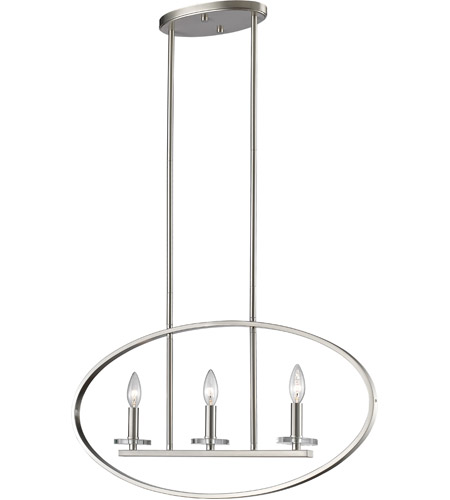 Brushed Nickel Steel Verona Pendants
