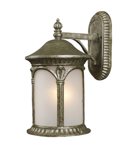 Z-Lite Hampton 1 Light Outdoor Wall Light in Antique Silver 2021S-AS photo