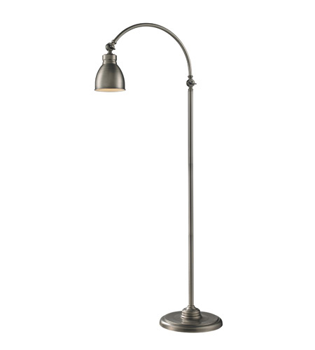 Z-Lite Ramsay 1 Light Floor Lamp in Antique Nickel 2107FL photo
