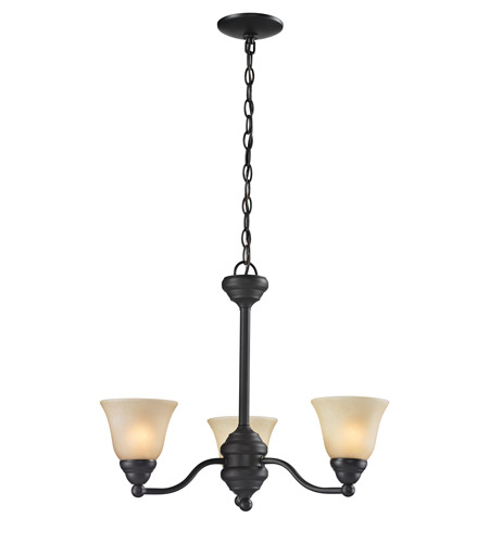 Z-Lite 2114-3 Athena 3 Light 20 inch Bronze Chandelier Ceiling Light photo