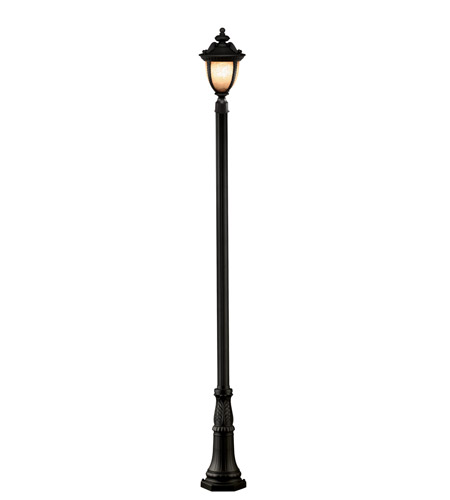 Z-Lite Winchester 3 Light Outdoor Post Light in Black 2141PHB-518P-BK photo
